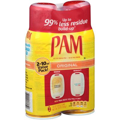 PAM® Original Cooking Spray 2-10 oz. Aerosol Cans