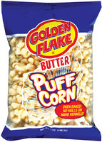 Golden Flake Butter Puff Corn 7 Oz Bag