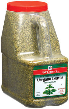 Spice Blends Mediterranean  Oregano Leaves 24 Oz Shaker
