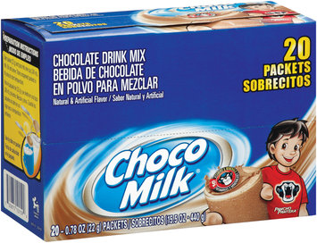 Choco Milk® Chocolate Drink Mix 0.78 oz Packets 20 ct Box