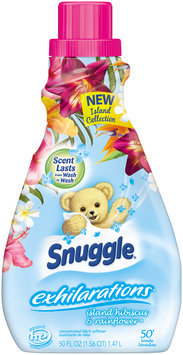 Snuggle® Exhilarations® Island Hibiscus & Rainflower™ 50 Loads Concentrated Fabric Softener 50 fl. oz. Bottle