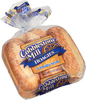 Cobblestone Mill® Philly Style Hoagies Rolls 6 ct Bag