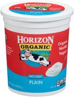 Horizon Organic Fat-Free Plain Yogurt