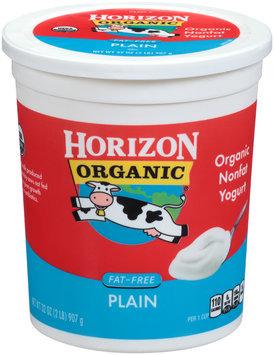 Horizon Organic® Fat-Free Plain Yogurt 32 oz. Tub