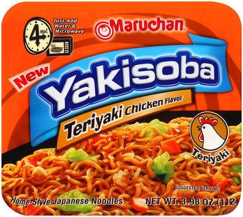 Maruchan® Yakisoba Teriyaki Flavor Noodles 3.98 oz. Bowl