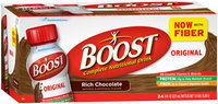 Boost® Original Rich Chocolate Complete Nutritional Drink 24-8 fl. oz. Bottles