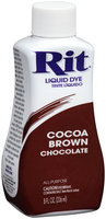 Rit® Cocoa Brown Liquid Dye 8 fl. oz. Bottle