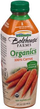 Bolthouse Farms® Organics 100% Carrot Juice