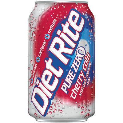 Diet Rite® Pure Zero™ Cherry Cola Soda 12 fl. oz. Can