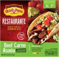 Old El Paso® Restaurante Beef Carne Asada Soft Taco Dinner Kit