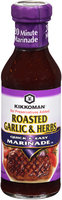 Kikkoman® Roasted Garlic & Herbs Quick & Easy Marinade™ 14 oz. Bottle