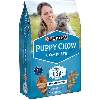 Purina Puppy Chow Complete Dog Food Hero Bag