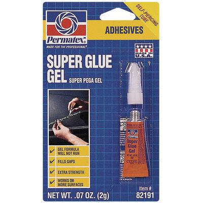 Permatex® Gel Carded Super Glue 2 G Tube