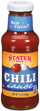 Stater Bros.  Chili Sauce 12 Oz Glass Bottle