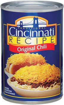 Cincinnati Recipe W/Meat Chili 15 Oz Can