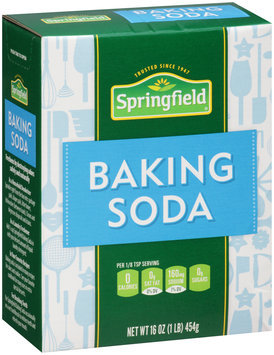 Springfield® Baking Soda 16 oz. Box