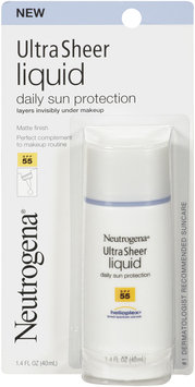Neutrogena® Ultra Sheer Liquid Daily Sunscreen Broad Spectrum - SPF 55