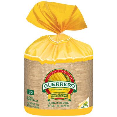 Guerrero Corn De Maiz Estilo Ranchero Tortillas