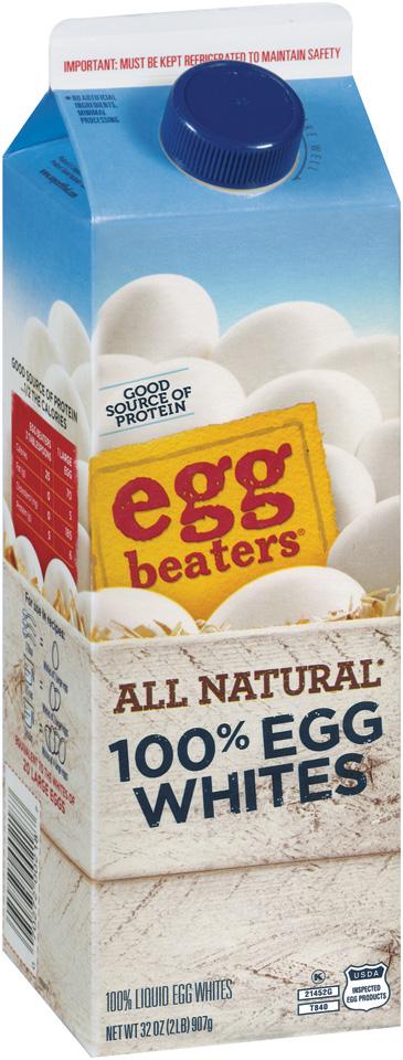 eggbeaters® All Natural 100% Egg Whites 32 oz.
