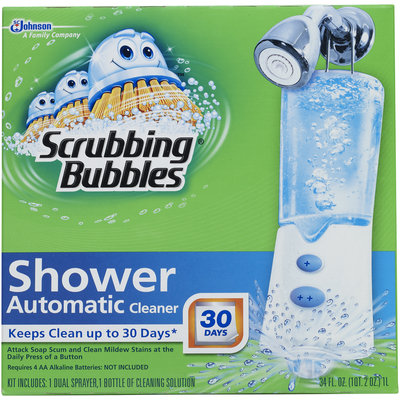 Scrubbing Bubbles® Automatic Shower Cleaner Starter Kit 34 fl oz. Box