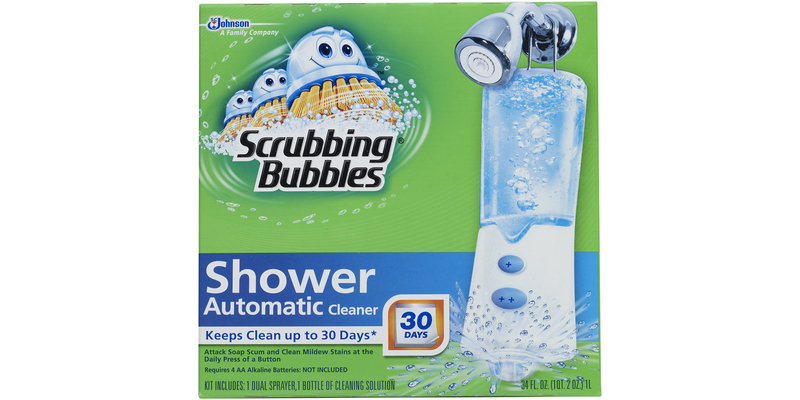 Scrubbing Bubbles® Automatic Shower Cleaner Starter Kit 34 Fl Oz. Box Reviews 2019