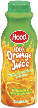 Hood 100% from Concentrate Orange Juice