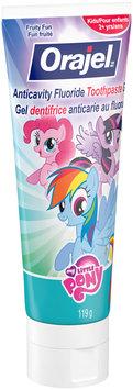 Orajel™ My Little Pony™ Fruity Fun Anticavity Fluoride Toothpaste 119g Tube