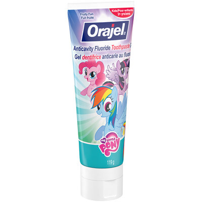 Orajel™ My Little Pony™ Fruity Fun Anticavity Fluoride Toothpaste 119g Tube