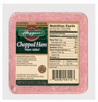 Haggen Chopped Sliced Ham 16 Oz Well