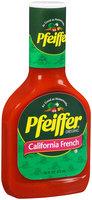 Pfeiffer® California French Dressing 16 fl oz.