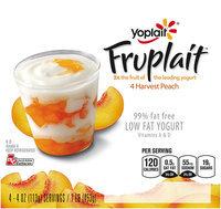 Yoplait® Fruplait™ Harvest Peach Low Fat Yogurt 4-4 oz. Cups