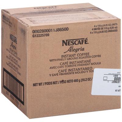 Nescafe Alegria Instant Coffee 4.05 oz. Box