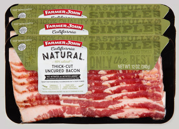 Farmer John Brand® California Natural® Thick-Cut Uncured Bacon