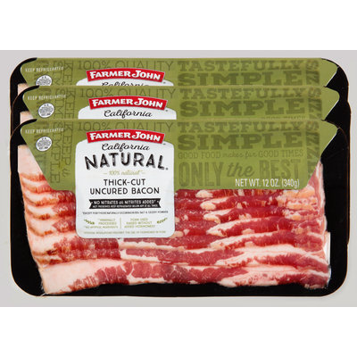 Farmer John Brand® California Natural® Thick-Cut Uncured Bacon