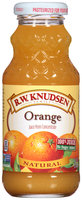 R.W. Knudsen Family® Natural Orange 100% Juice 8 fl. oz. Bottle