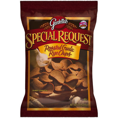 Gardetto's® Special Request Roasted Garlic Rye Chips 8 oz. Bag