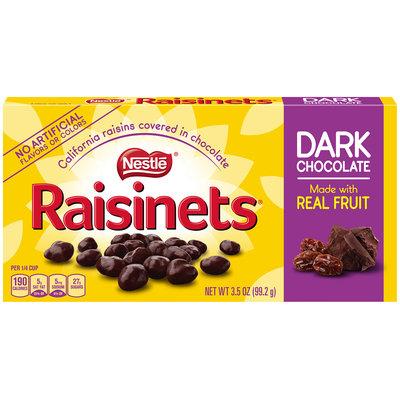 RAISINETS Dark Chocolate Covered Raisins 3.5 oz. Video Box (Pack of 18)