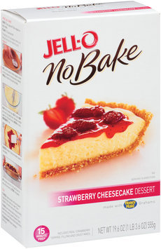 Jell-O No Bake Strawberry Cheesecake Dessert