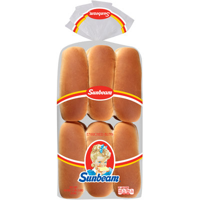 Sunbeam® Hot Dog Buns 12 ct Pack
