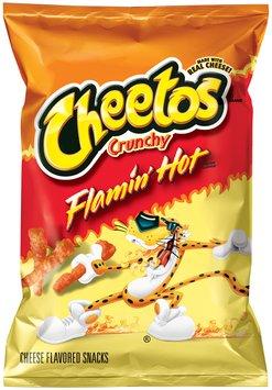 Cheetos Flamin' Hot Crunchy Cheese Flavored Snacks