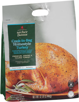 Archer Farms™ Cook-in-Bag Homestyle Turkey 12 lb. Bag
