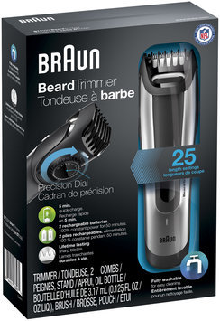 Braun Beard Trimmer BT5090 – Ultimate precision for the perfect beard style with 0.5mm step sizes