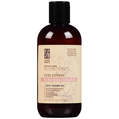Salon Grafix® Healthy Hair Nutrition™ Curl Lotion for Fine-Medium Textured Hair 8 fl. oz. Bottle