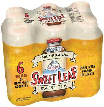 Sweet Leaf Diet Original Sweet Tea 6-16 fl. oz. Glass Bottles