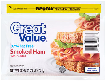 Great Value™ Smoked Ham 28 oz. ZIP-PAK®