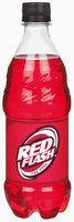 Red Flash Soda 20 oz Plastic Bottle