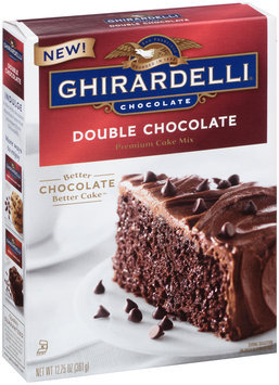 Ghirardelli® Double Chocolate Premium Cake Mix