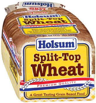 Holsum  Split-Top Wheat Premium Bread 20 Oz Loaf