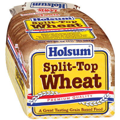Holsum  Split-Top Wheat Premium Bread 20 Oz Loaf