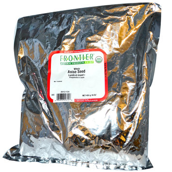 Frontier Bulk Anise Seed Whole ORGANIC 1 lb. package 2615